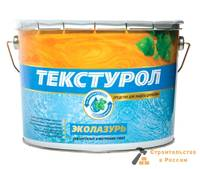 Антисептик Текстурол Эколазурь, на водной осн, дуб, 1л