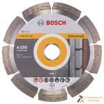 Диск алмазный BOSCH, 150x22,23мм, PF Universal, универ