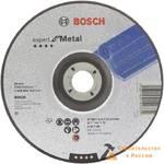 Диск шлифовальный BOSCH, 230x6мм, металл