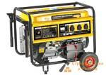 Генератор DENZEL бензиновый GE 6900E, 5,5 кВт, 220В/50Гц, 25 л, электростартер