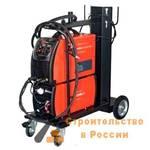 Инвертор сварочный FUBAG INTIG 400 T DC PULSE, горелка TIG 18 5P 4м, модуль охлаждения, тележка