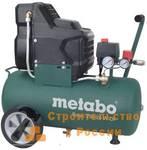 Компрессор безмасляный Metabo Basic250-24WOF, 1.5кВт, 220 л/ мин, 8 бар, 24 л, 220 В