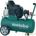 Компрессор масляный Metabo Basic 250-24 W,1.5кВт, 200 л/мин, 8 бар, 24 л, 220 В