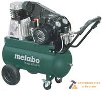 Компрессор масляный Metabo Mega 400-50 W, 2,2кВт, 400 л/мин, 10б, 50 л, 220 В