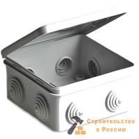 Коробка распаячная TDM, SQ1401-0111, ОП 65х65х50мм, крышка,  IP54, 4вх. TDM