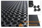 Коврик Clean Will ячеистый резиновый 80х120см - 16мм