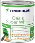 Краска ВД FINNCOLOR OASIS SUPER WHITE, для потолков, 9,0л