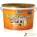 Краска ВД JOBI SuperWaiss L3, супербел, 2,5л