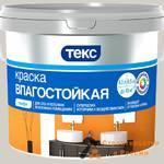 Краска ВД ТЕКС Профи, супербел, влагостойк, 0,9 л/1,3кг