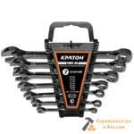 Набор ключей комбинированных Кратон CWS-08 7 пр.