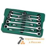 Набор ключей с трещеточным механизмом Sata 10 предметов, S08016