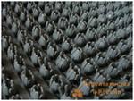 Покрытие щетинистое Центробалт 128 серый металлик шир.0,9м