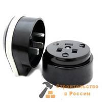 Разъем РШ/ВШ 220В 32А-40А черный