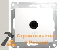 Розетка GLOSSA TV оконечная 1DB, механизм, БЕЛЫЙ