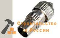 Штекер TV Rexant 05-2031 ШТЕКЕР без пайки металл, орех
