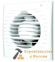 Вентилятор осевой вытяжной с обратным клапаном, электронным таймером D100 ЭРА