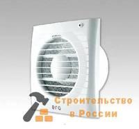 Вентилятор осевой вытяжной с обратным клапаном индикатор D100 ЭРА